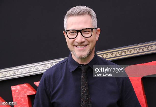 Director Charlie Bean attends the premiere of 'The LEGO Ninjago Movie' at Regency Village Theatre on September 16 2017 in Westwood California