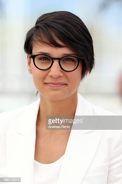 Director Chloe Robichaud attends the 'Sarah Prefere La Course' Photocall during The 66th Annual Cannes Film Festival at the Palais des Festivals on...