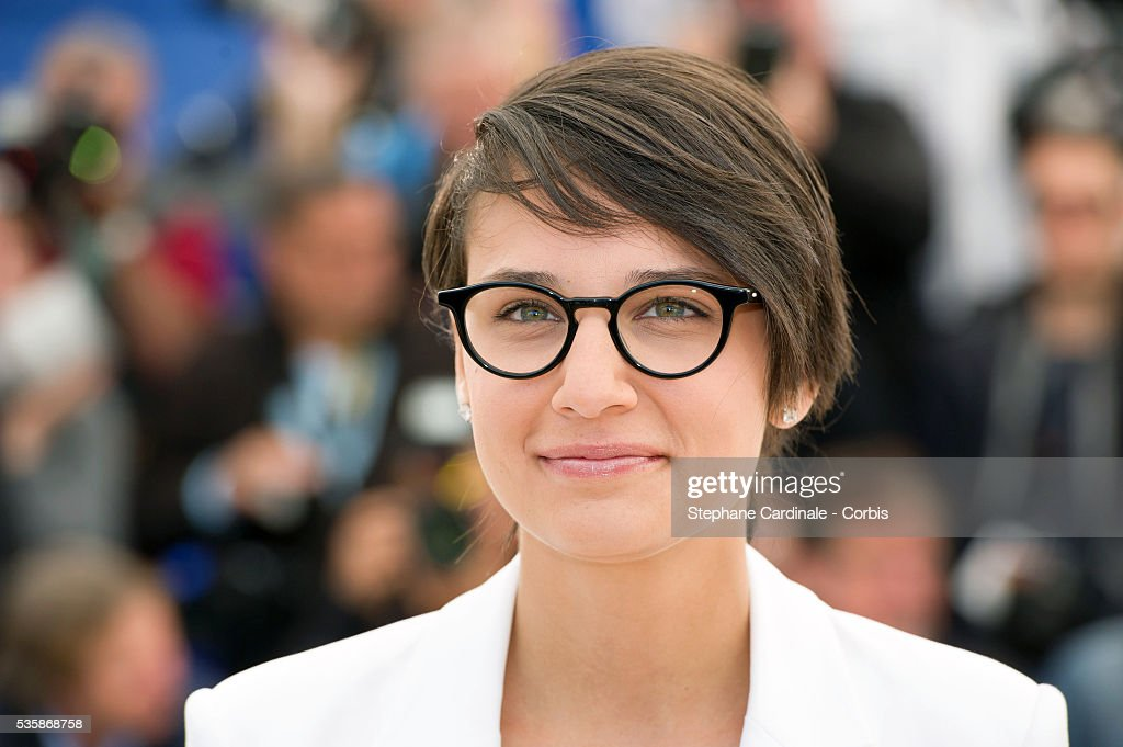 Director Chloe Robichaud attends the 'Sarah Prefere La Course' Photo call during the 66th Cannes International Film Festival