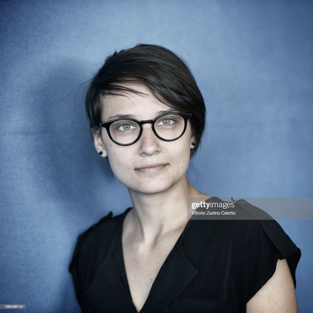 Director Chloe Robichaud of 'Sarah Prefere La Course' poses for a portrait during The 66th Annual Cannes Film Festival on May 24 2013 in Cannes France