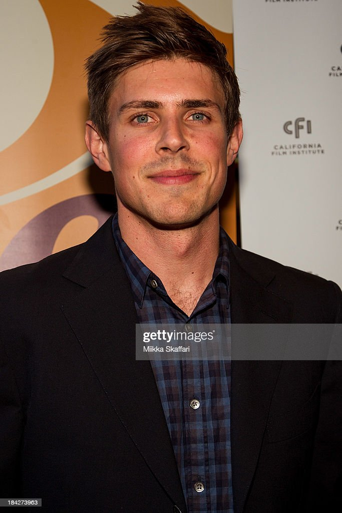 Director <a gi-track='captionPersonalityLinkClicked' href=/galleries/search?phrase=Chris+Lowell&family=editorial&specificpeople=880311 ng-click='$event.stopPropagation()'>Chris Lowell</a> is arriving to the premiere of 'Beside Still Waters' on October 12, 2013 in Mill Valley, California.