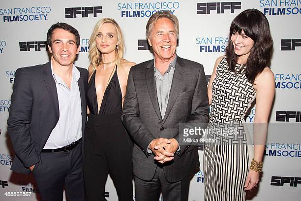 Director Chris Messina actress Katie Nehra actor Don Johnson and actress Mary Elizabeth Winstead arrive at the premiere of 'Alex Of Venice' in San...