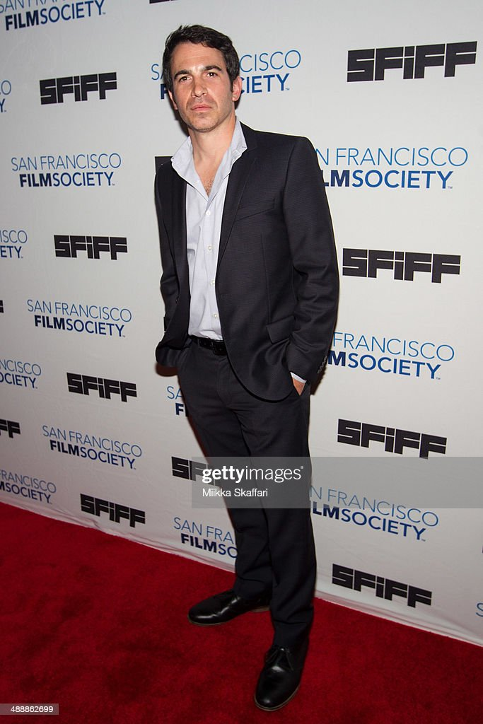 Director <a gi-track='captionPersonalityLinkClicked' href=/galleries/search?phrase=Chris+Messina&family=editorial&specificpeople=541094 ng-click='$event.stopPropagation()'>Chris Messina</a> arrives to the premiere of 'Alex Of Venice' in San Francisco International Film Festival on May 8, 2014 in San Francisco, California.