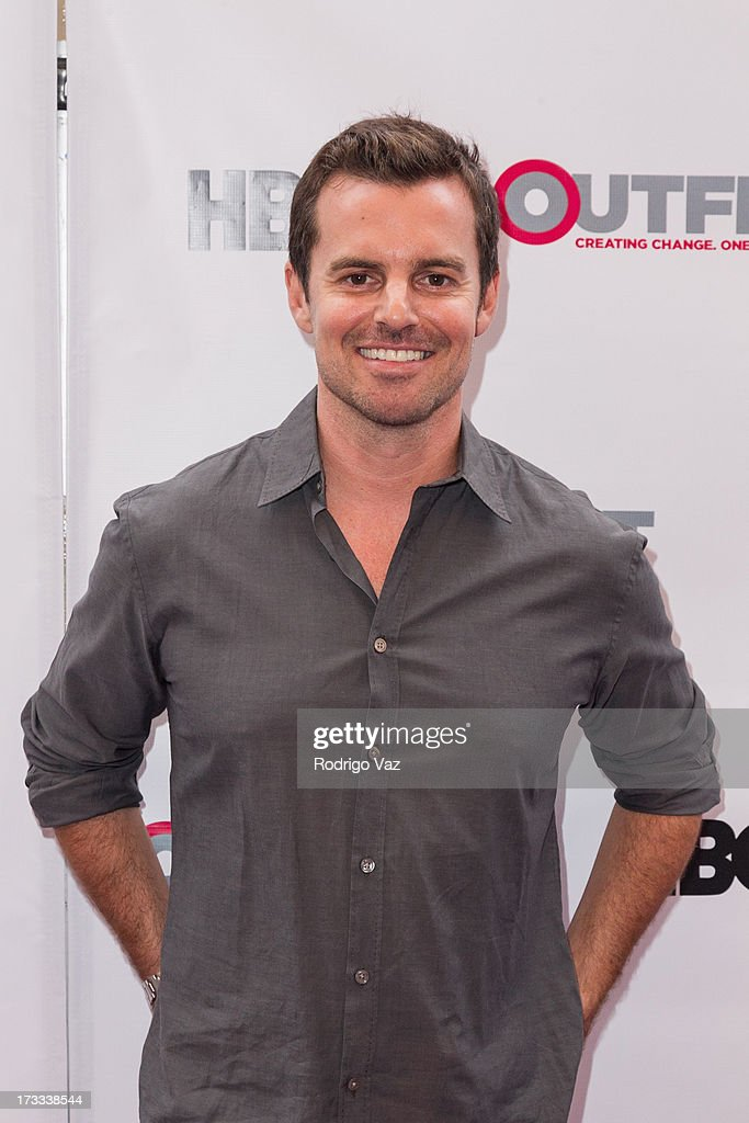 Director Chris Nelson arrives at the 13th Annual Outfest Opening Night Gala Of 'COG' at Orpheum Theatre on July 11 2013 in Los Angeles California