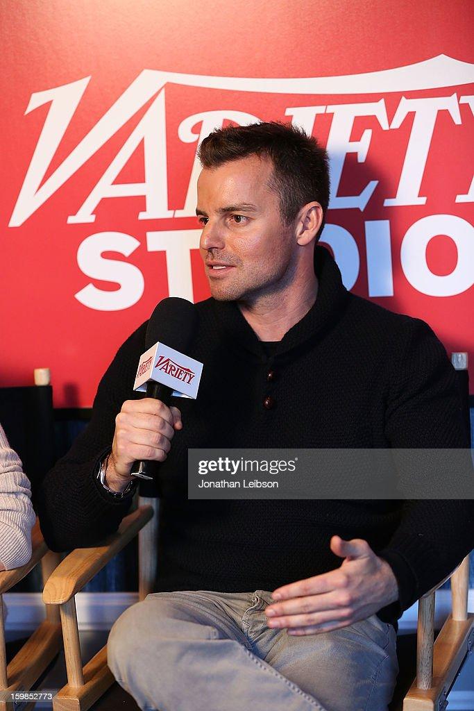 Director Chris Nelson attends Day 3 of the Variety Studio At 2013 Sundance Film Festival on January 21, 2013 in Park City, Utah.