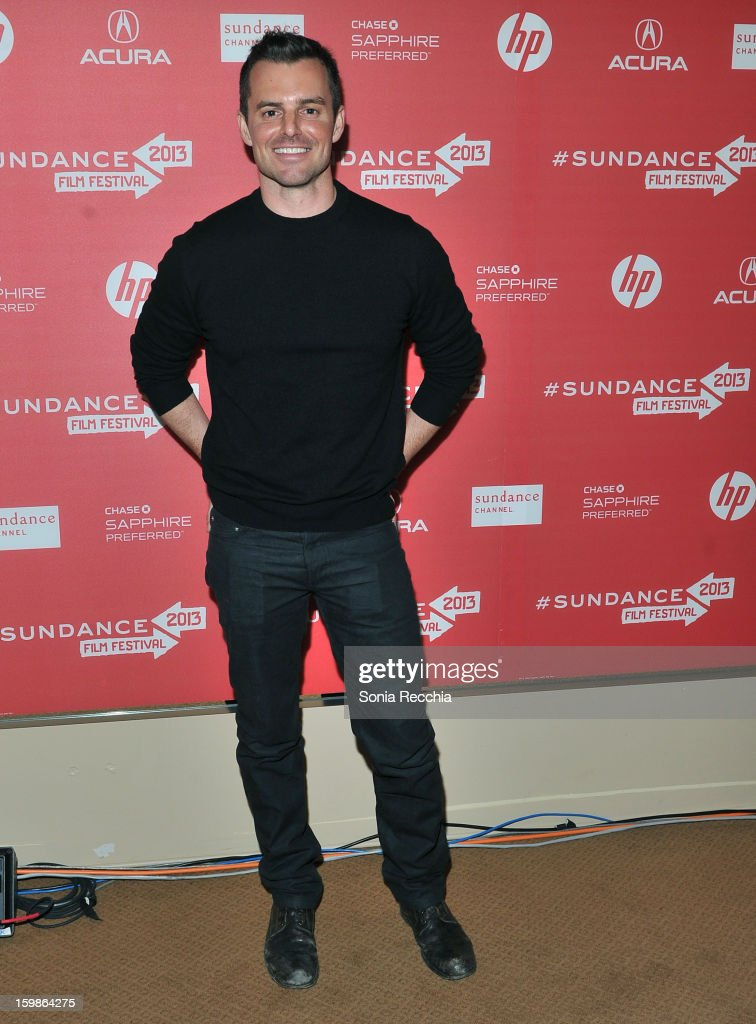 Director Chris Nelson attends the 'Ass Backwards' premiere at Egyptian Theatre during the 2013 Sundance Film Festival on January 21 2013 in Park City...