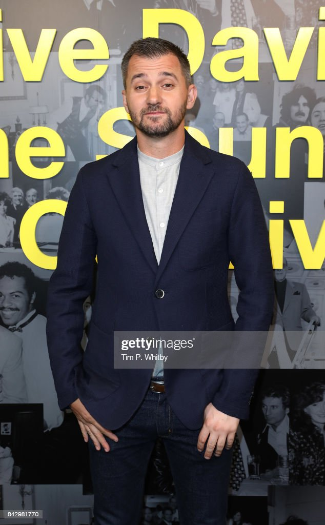 Director Chris Perkel arrives for the Clive Davis: 'Soundtrack Of Our Lives' special screening at The Curzon Mayfair on September 5, 2017 in London, England.