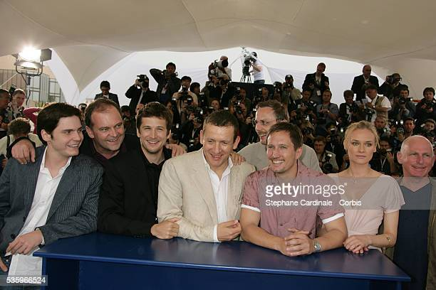 Director Christian Carion Actors Lucas Belvaux Dany Boon Daniel Bruhl Gary Lewis Benno Furmann Guillaume Canet and actress Diane Kruger at the...
