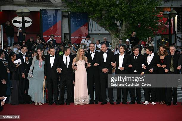 Director Christian Carion actress Diane Kruger actors Lucas Belvaux Dany Boon and his wife Daniel Bruhl Guillaume Canet Benno Furmann and Gary Lewis...