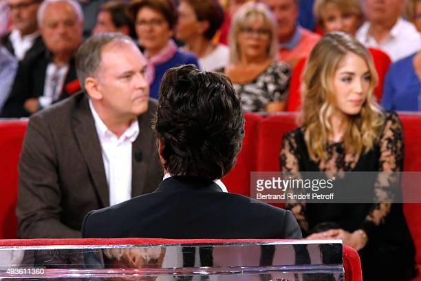 Director Christian Carion Main Guest of the Show Impersonator Laurent Gerra and Actress Alice Isaaz present the Movie 'En Mai fait ce qu'il te plait'...