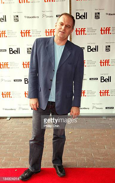 Director Christian Carion poses at the 'L'Affaire Farewell' Premiere held at the Ryerson Theatre during the 2009 Toronto International Film Festival...