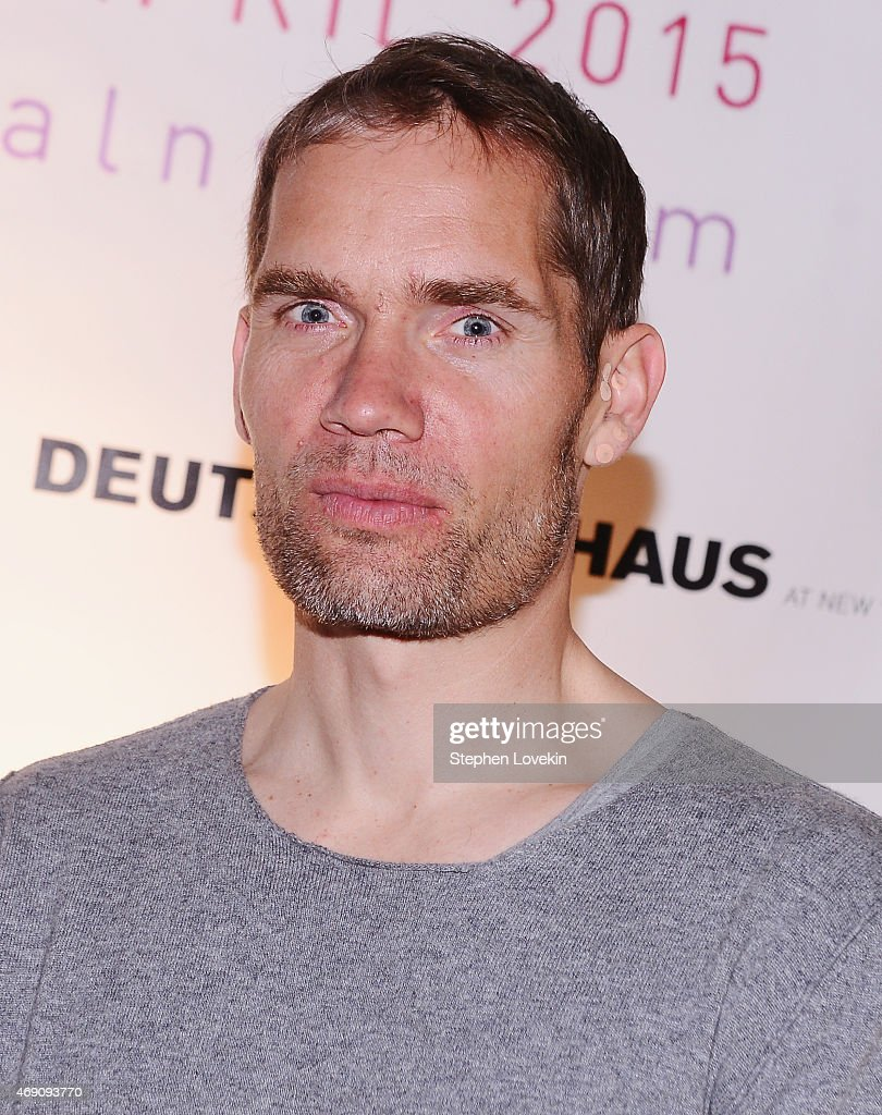 Director Christian Zubert attends the KINO New York Film Festival opening night at Tribeca Cinemas on April 9 2015 in New York City