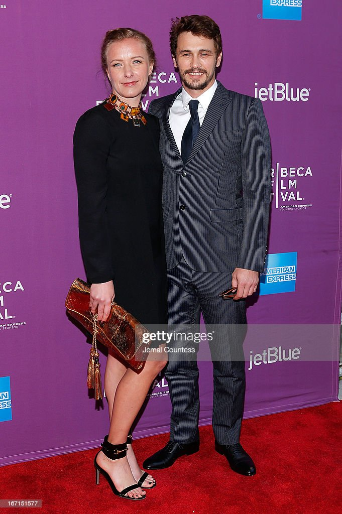 Director Christina Voros and actor/producer James Franco attend 'The Director' World Premiere during the 2013 Tribeca Film Festival on April 21, 2013 in New York City.