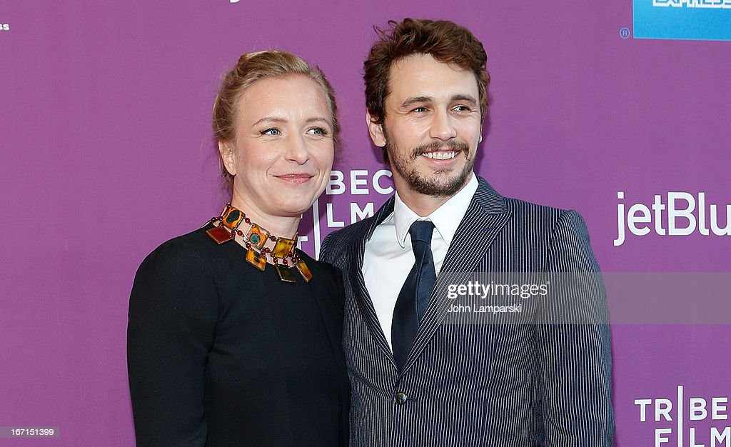 Director Christina Voros and Producer <a gi-track='captionPersonalityLinkClicked' href=/galleries/search?phrase=James+Franco&family=editorial&specificpeople=577480 ng-click='$event.stopPropagation()'>James Franco</a> attends the screening of 'The Director' during the 2013 Tribeca Film Festival at SVA Theater on April 21, 2013 in New York City.