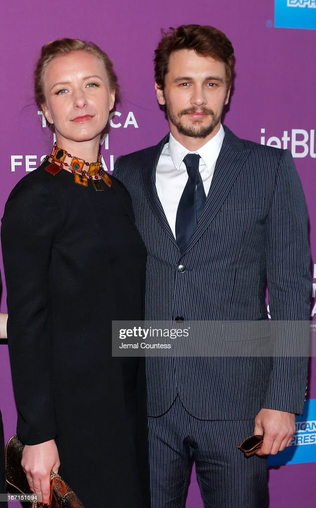 Director Christina Voros and producer/actor <a gi-track='captionPersonalityLinkClicked' href=/galleries/search?phrase=James+Franco&family=editorial&specificpeople=577480 ng-click='$event.stopPropagation()'>James Franco</a> attend 'The Director' World Premiere during the 2013 Tribeca Film Festival on April 21, 2013 in New York City.
