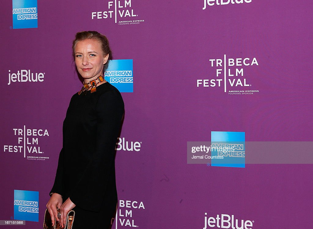 Director Christina Voros attends 'The Director' World Premiere during the 2013 Tribeca Film Festival on April 21, 2013 in New York City.