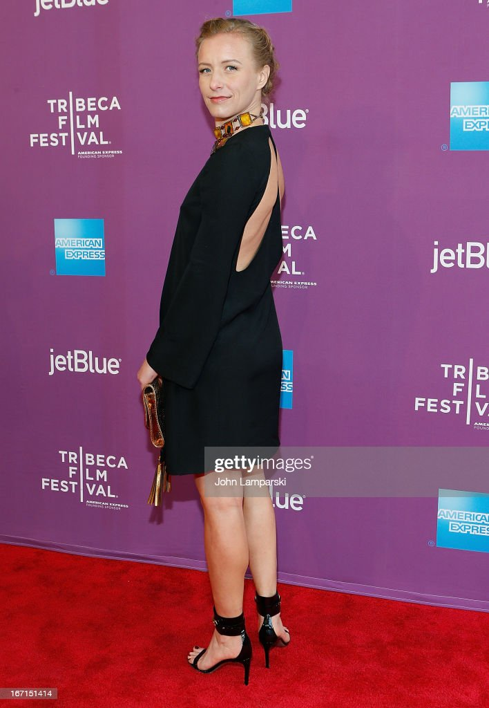 Director Christina Voros attends the screening of 'The Director' during the 2013 Tribeca Film Festival at SVA Theater on April 21, 2013 in New York City.