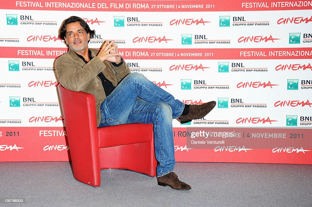 Director Christophe Barratier attends the 'La Guerra Dei Bottoni' Photocall during the 6th International Rome Film Festival at Auditorium Parco Della...