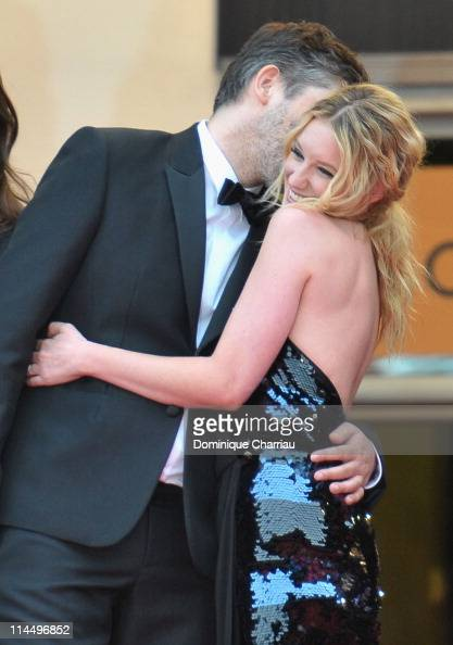 Director Christophe Honore and actress Ludivine Sagnier attends the 'Les BienAimes' Premiere and Closing Ceremony during the 64th Annual Cannes Film...