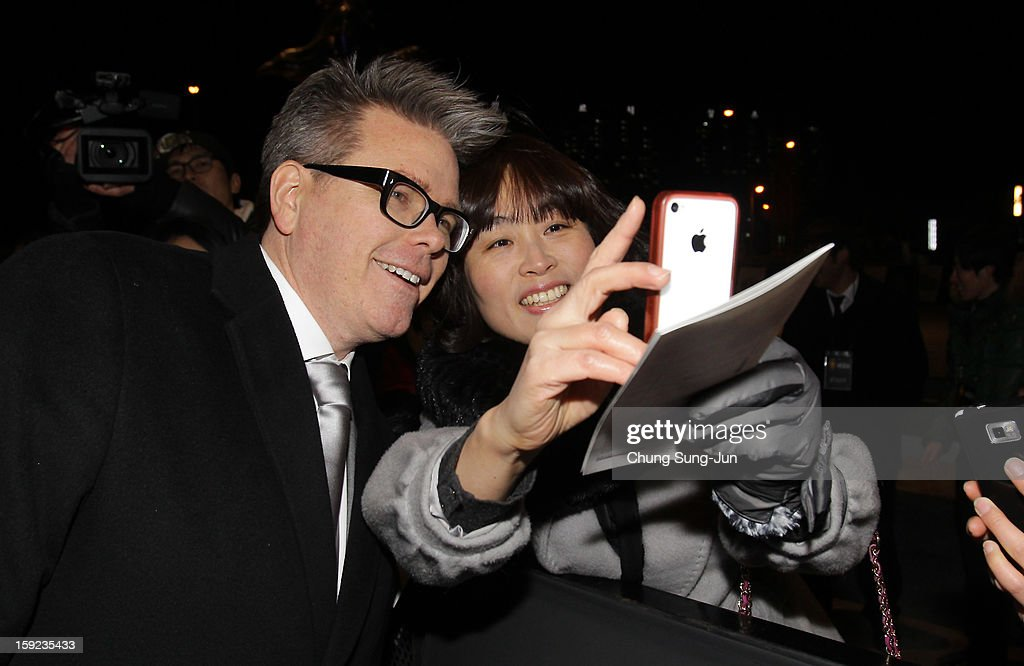 Director Christopher McQuarrie attends the 'Jack Reacher' Fan Screening at Busan Cinema Center on January 10, 2013 in Busan, South Korea. The film will open on January 17 in Korea.