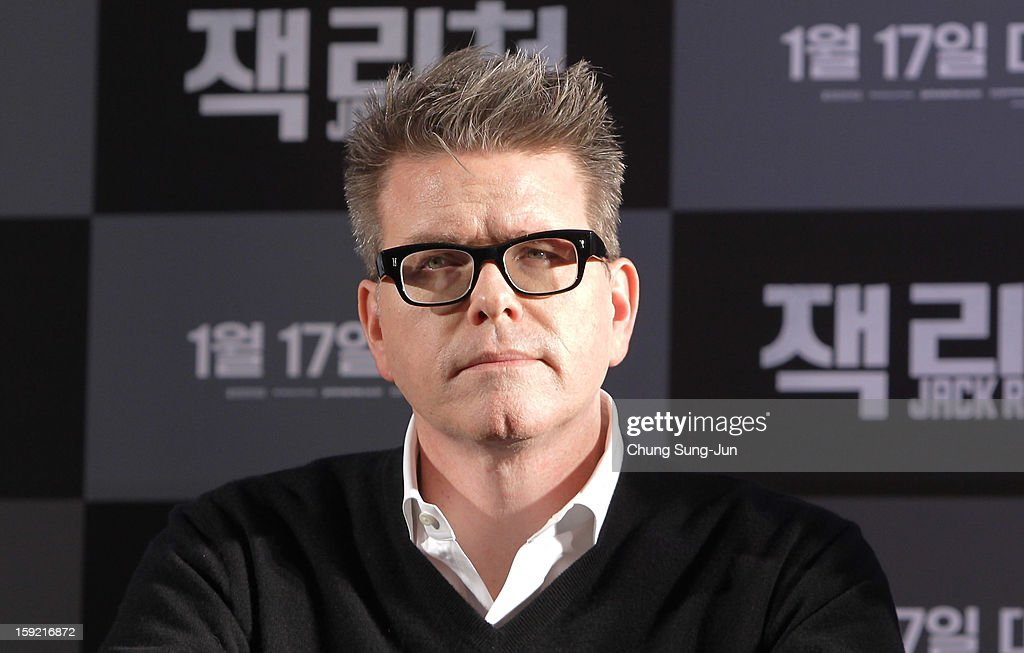 Director Christopher McQuarrie attends the 'Jack Reacher' press conference at Conrad Hotel on January 10, 2013 in Seoul, South Korea. The film will open on January 17 in Korea.