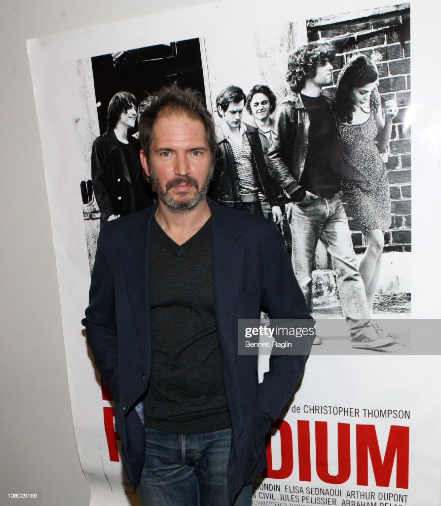 Director Christopher Thompson attends a screening of 'The Last Summer Tour (Bus Palladium)' at Florence Gould Hall on January 13, 2011 in New York City.