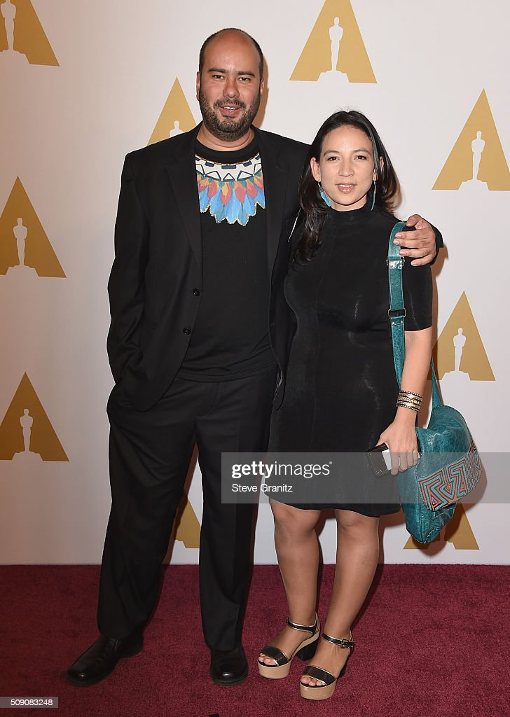 Director <a gi-track='captionPersonalityLinkClicked' href=/galleries/search?phrase=Ciro+Guerra&family=editorial&specificpeople=2478480 ng-click='$event.stopPropagation()'>Ciro Guerra</a> and Producer Cristina Gallego attend the 88th Annual Academy Awards nominee luncheon on February 8, 2016 in Beverly Hills, California.