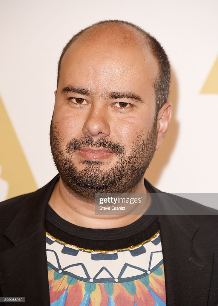 Director <a gi-track='captionPersonalityLinkClicked' href=/galleries/search?phrase=Ciro+Guerra&family=editorial&specificpeople=2478480 ng-click='$event.stopPropagation()'>Ciro Guerra</a> attends the 88th Annual Academy Awards nominee luncheon on February 8, 2016 in Beverly Hills, California.