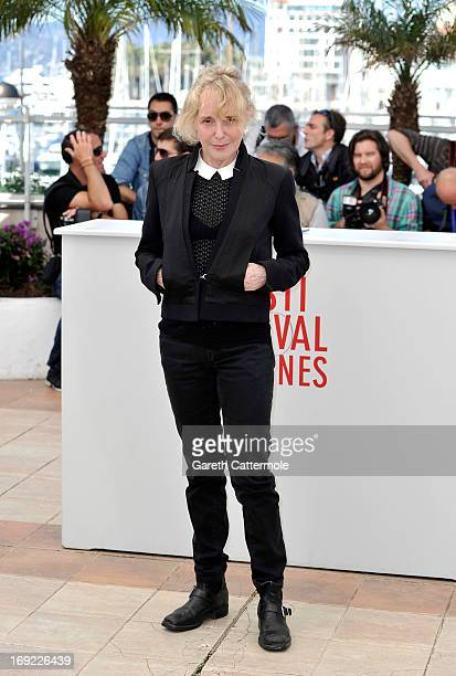 Director Claire Denis attends the 'Les Salauds' Photocall during the 66th Annual Cannes Film Festival on May 22 2013 in Cannes France