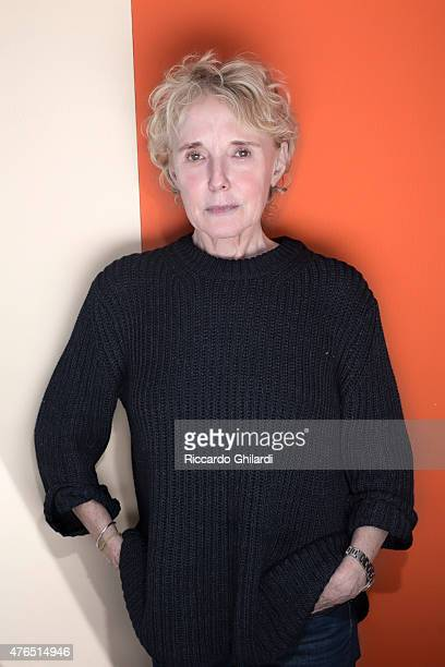 Director Claire Denis is photographed for Self Assignment on May 15 2015 in Cannes France