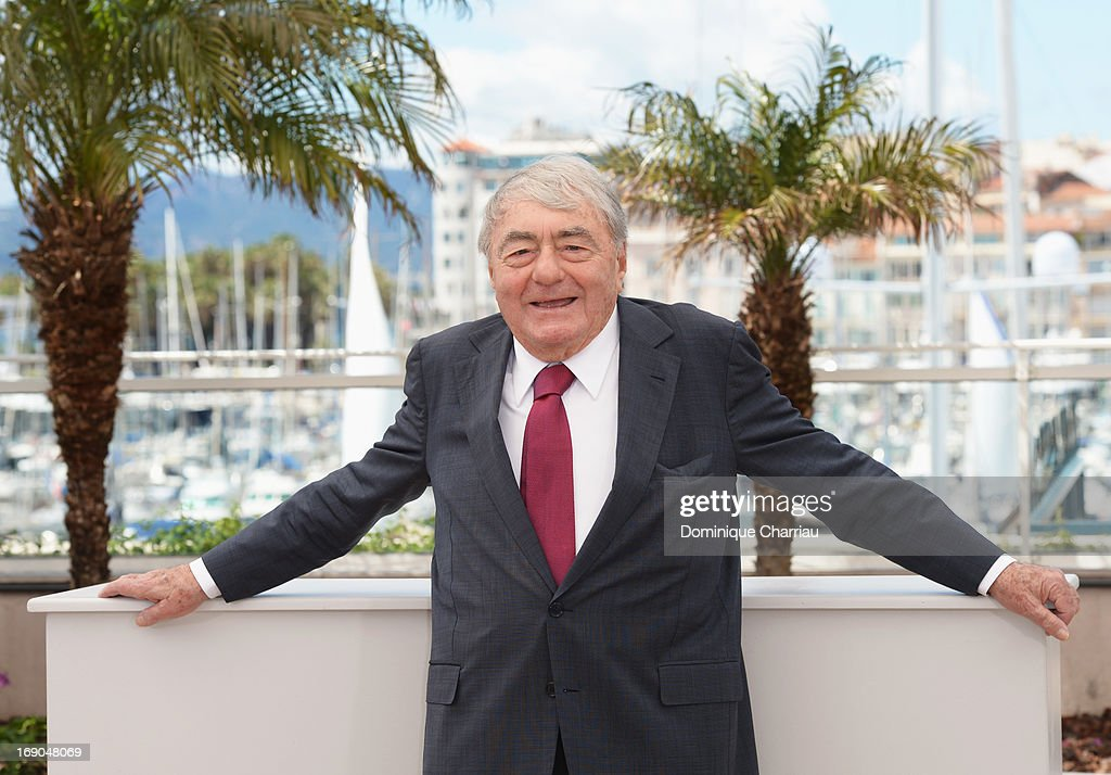 Director <a gi-track='captionPersonalityLinkClicked' href=/galleries/search?phrase=Claude+Lanzmann&family=editorial&specificpeople=2464586 ng-click='$event.stopPropagation()'>Claude Lanzmann</a> attends the photocall for 'Le Dernier Des Injustes' during the 66th Annual Cannes Film Festival at Palais des Festivals on May 19, 2013 in Cannes, France.