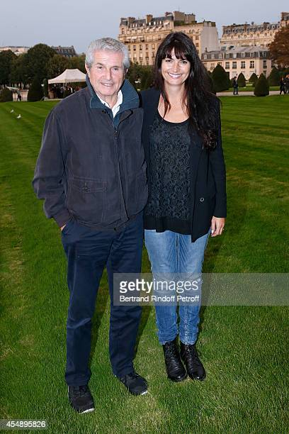 Director Claude Lelouch and his companion Photographer Valerie Perrin attend the 'Claude Lelouch en Musique Held at the Invalides in Paris on...