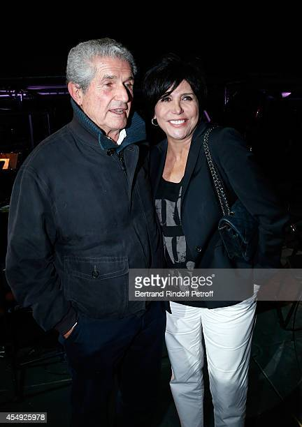 Director Claude Lelouch and singer Liane Foly pose at the end of the 'Claude Lelouch en Musique Held at the Invalides in Paris on September 6 2014 in...