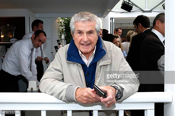 Director Claude Lelouch attends the 2015 Roland Garros French Tennis Open Day Eleven on June 3 2015 in Paris France