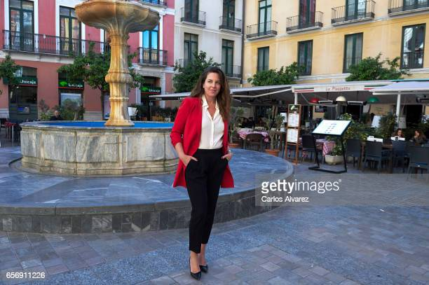Director Claudia Llosa receives the 'Eloy de la Iglesia' award on day 7 of the 20th Malaga Film Festival on March 23 2017 in Malaga Spain