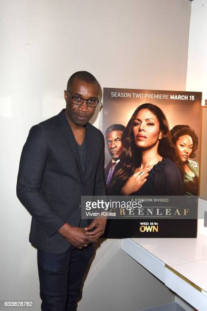 Director Clement Virgo attends QA for 'Greenleaf' on Day Three of aTVfest 2017 presented by SCAD at SCADshow Stage 2 on February 4 2017 in Atlanta...