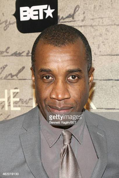 Director Clement Virgo attends 'The Book of Negroes' screening reception at The National Archives on January 22 2015 in Washington DC