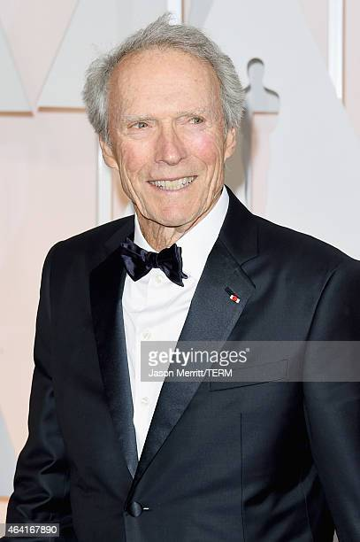 Director Clint Eastwood attends the 87th Annual Academy Awards at Hollywood Highland Center on February 22 2015 in Hollywood California