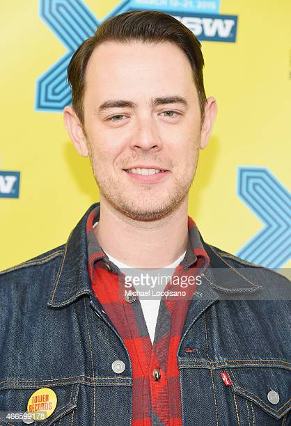 Director Colin Hanks attends the 'All Things Must Pass' premiere during the 2015 SXSW Music Film Interactive Festival at Topfer Theatre at ZACH on...