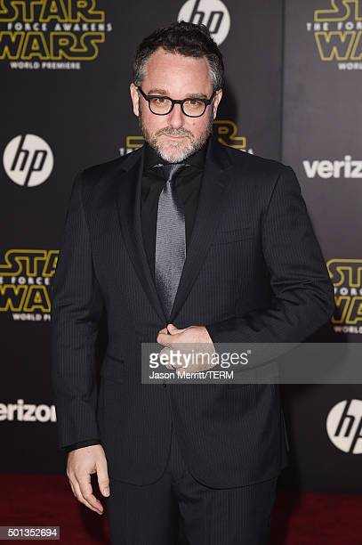 Director Colin Trevorrow attends Premiere of Walt Disney Pictures and Lucasfilm's 'Star Wars The Force Awakens' on December 14 2015 in Hollywood...