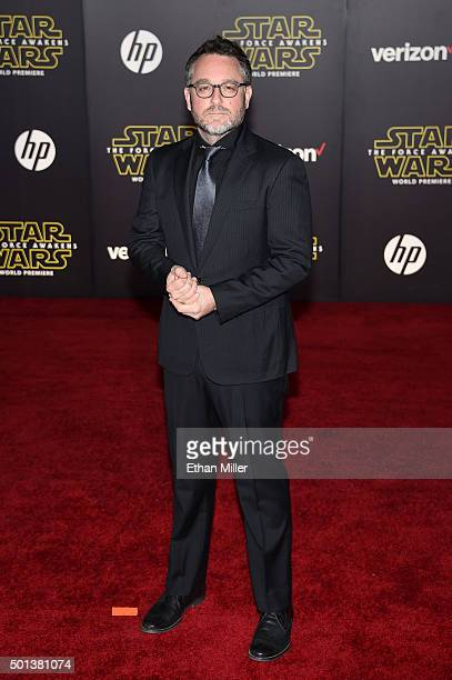 Director Colin Trevorrow attends the premiere of Walt Disney Pictures and Lucasfilm's 'Star Wars The Force Awakens' at the Dolby Theatre on December...