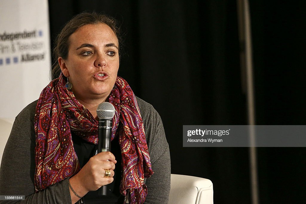 Director, Colombian Film Commission Silvia Echeverri speaks at International Production Incentives at the Loews Santa Monica Beach Hotel on November 6, 2012 in Santa Monica, California.
