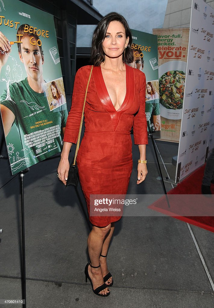 Director <a gi-track='captionPersonalityLinkClicked' href=/galleries/search?phrase=Courteney+Cox&family=editorial&specificpeople=203101 ng-click='$event.stopPropagation()'>Courteney Cox</a> attends the Los Angeles Special Screening of 'Just Before I Go' at ArcLight Hollywood on April 20, 2015 in Hollywood, California.