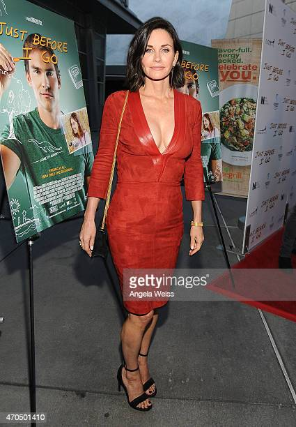 Director Courteney Cox attends the Los Angeles Special Screening of 'Just Before I Go' at ArcLight Hollywood on April 20 2015 in Hollywood California