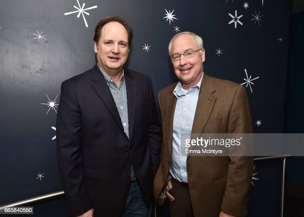 Director Craig Barron and film editor Ben Burtt attend the screening of 'It's a Mad Mad Mad Mad World' during the 2017 TCM Classic Film Festival on...