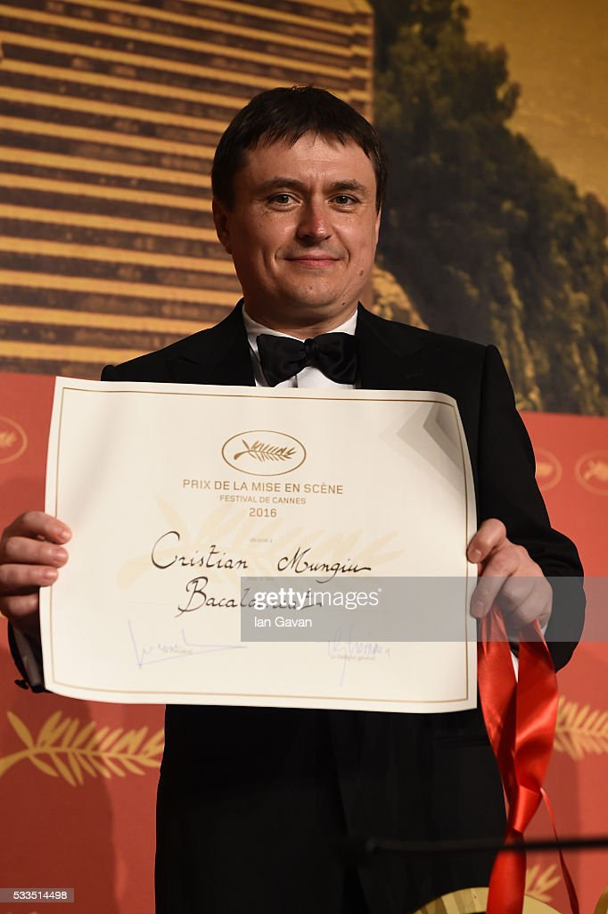 Director <a gi-track='captionPersonalityLinkClicked' href=/galleries/search?phrase=Cristian+Mungiu&family=editorial&specificpeople=4292523 ng-click='$event.stopPropagation()'>Cristian Mungiu</a>, winner of the award for Best Director for the movie 'Bacalaureat', attends the Palme D'Or Winner Press Conference during the 69th annual Cannes Film Festival at the Palais des Festivals on May 22, 2016 in Cannes, France.