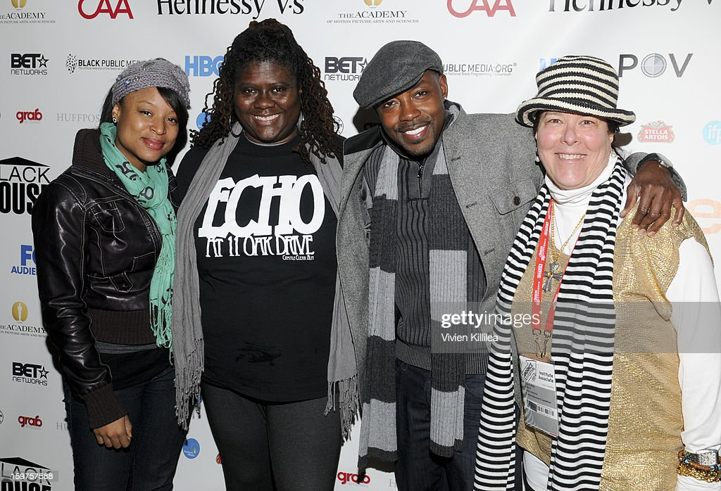 Director Crystle Roberson, producer Dianne Ashford, producer Will Packer and Carol Ann Shine of Blackhouse attend the Academy Conversation With Will Packer At Sundance Film Festival - 2013 Park City on January 19, 2013 in Park City, Utah.