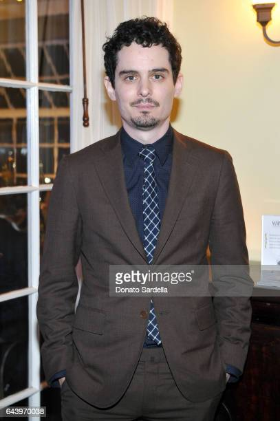 Director Damien Chazelle attends Vanity Fair and Barneys New York Private Dinner in Celebration of 'La La Land' at Chateau Marmont on February 22...