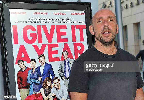 Director Dan Mazer arrives at the Screening of Magnolia Pictures' 'I Give It A Year' at ArcLight Hollywood on August 1 2013 in Hollywood California