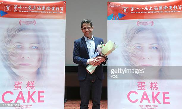 Director Daniel Barnz attends the 'Cake' premiere as part of 18th Shanghai International Film Festival on June 19 2015 in Shanghai China